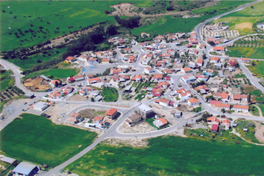 The village from above
